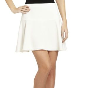 BCBG Maxazria Women Lucy Skirt Off White Size S